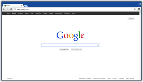 Google Chrome in Windows 8 Metro UI