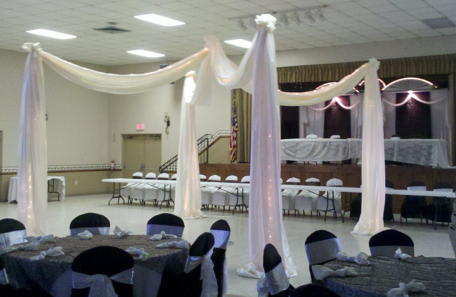 Elegant Wedding Canopy St Petersburg Florida