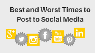Best and Worst Times to Post to Social Media #SeptVidChallenge