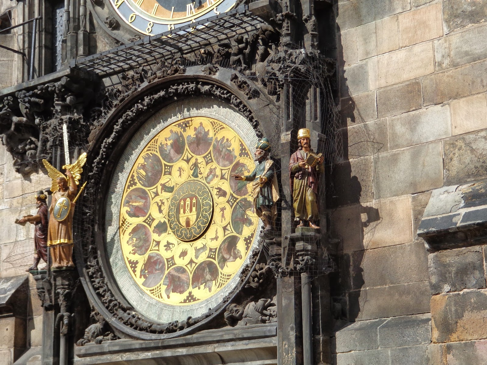 Four Figures, Astronomical Clock, Prague