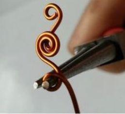 Teknik pembuatan CIncin Circle Crop / Spiral Ring dari Kawat Tembaga