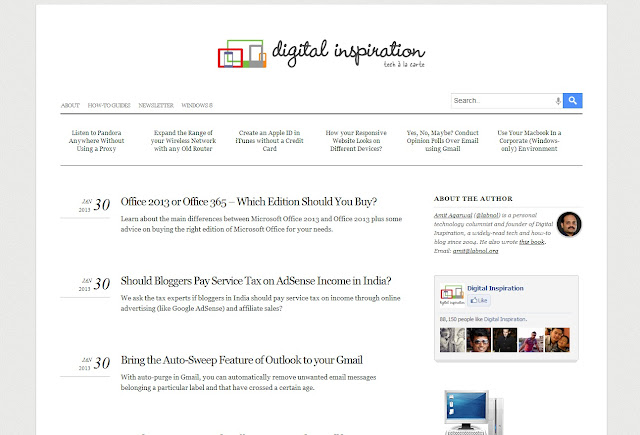 labnol blogger template