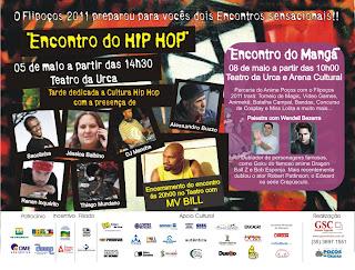 Festival Literário Nacional dedica programação ao hip-hop e Literatura Marginal