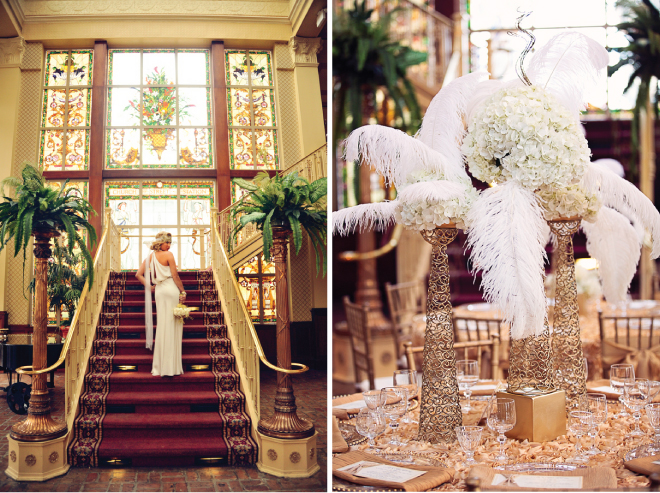 "... Wedding Inspiration: ""All that Glitters is Gold"" - Belle The Ma..."