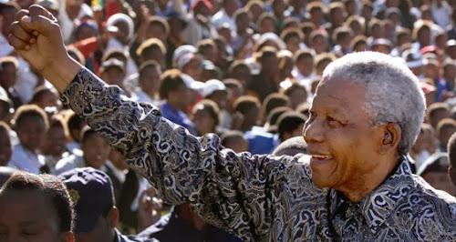 Homenagem ao Nelson Mandela mandela