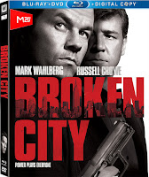 Broken City Russell Crowe Mark Wahlberg Blu-Ray DVD