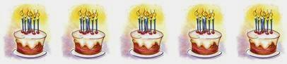 Birthday cake divider