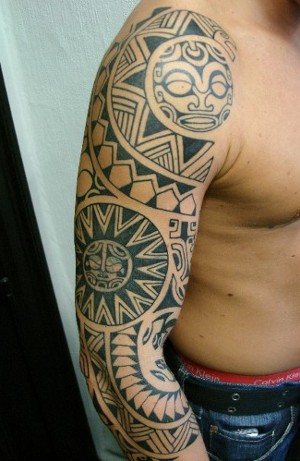 arm tribal tattoo pictures. Tribal Tattoo On Arm. Tribal