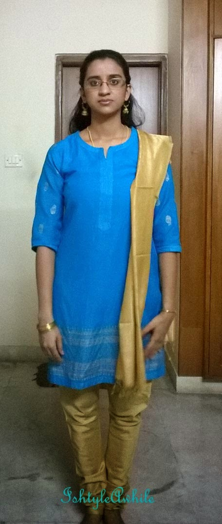 OOTD: The Sky Blue Kurta image