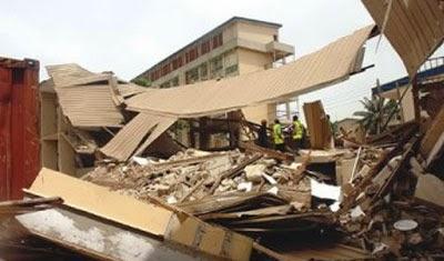 catholic church collapsed enugu