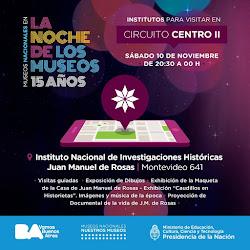 Noche de los Museos en el Instituto JM de Rosas. De 20 a 24