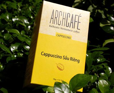 Archcafé Cappuccino Sầu Riêng đã có mặt tại Việt Nam