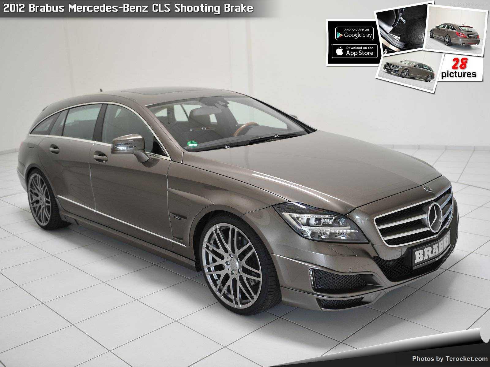 Hình ảnh xe ô tô Brabus Mercedes-Benz CLS Shooting Brake 2012 & nội ngoại thất