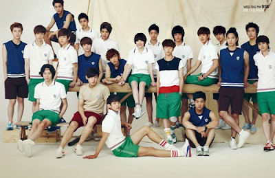 """To The Beautiful You"" Promo Poster with EXO :"