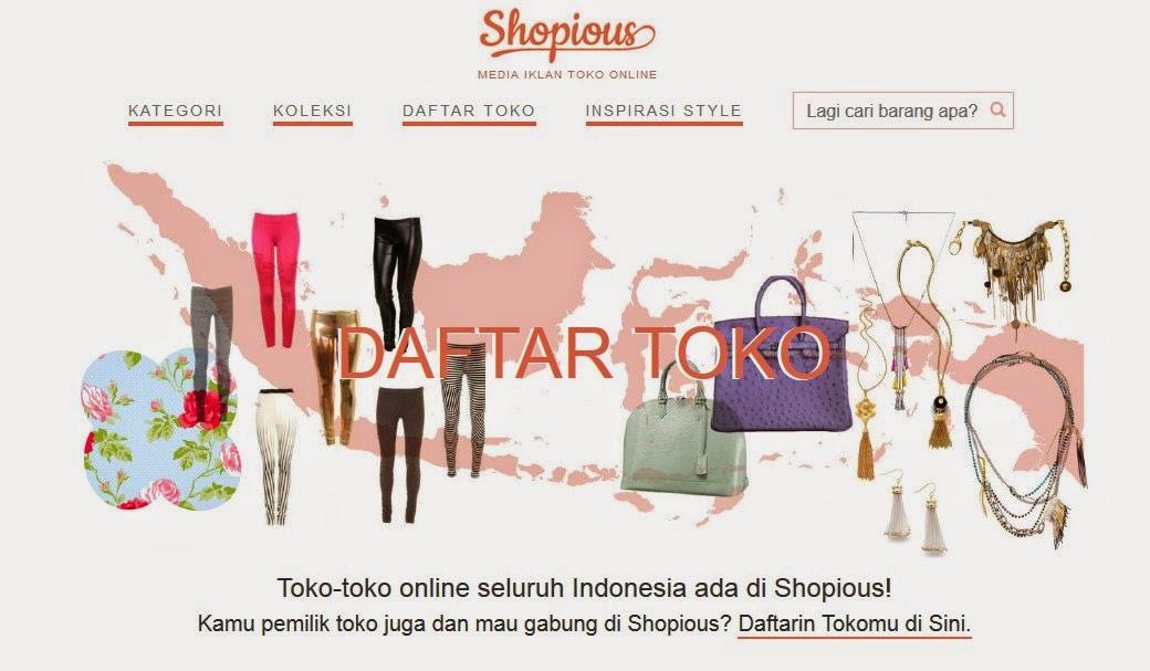 Shopious, cara mudah dan aman belanja online