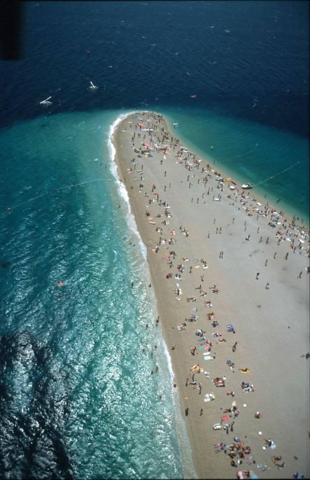 The Golden Horn Beach — Zlatni Rat, Croatia