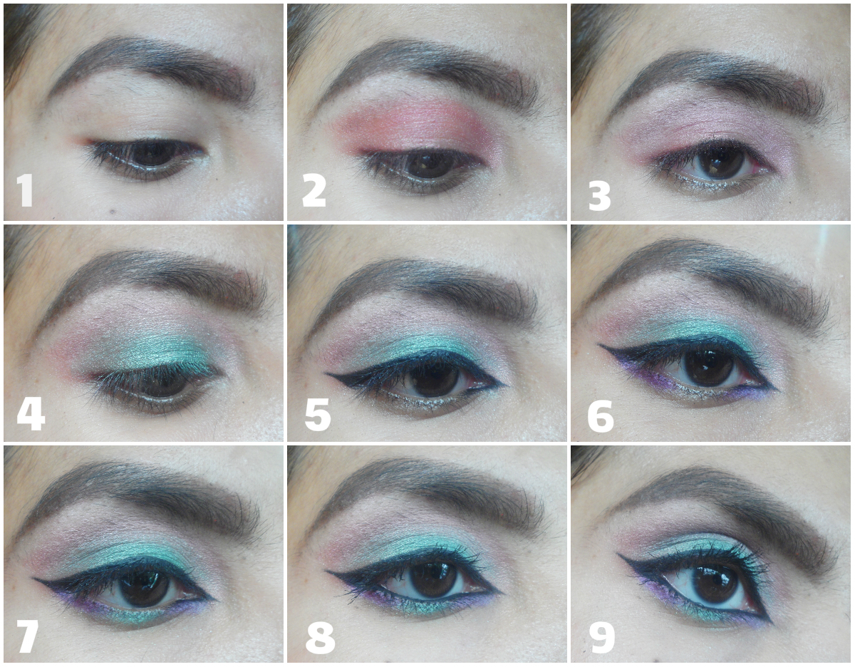 FOTD - COLORFUL EYES FOR CHRISTMAS/ NEW YEAR PARTY ...