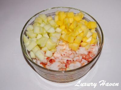 seafood fruits salad recipe