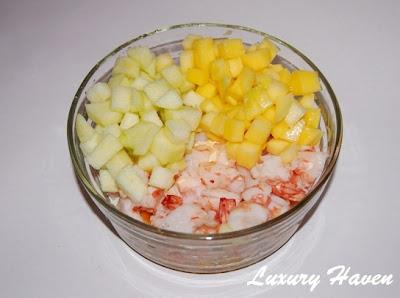 seafood fruits salad recipe