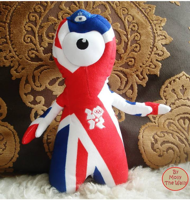 1 Molly The Wally Wrestles Wenlock The London 2012 Olympic Games Mascot.