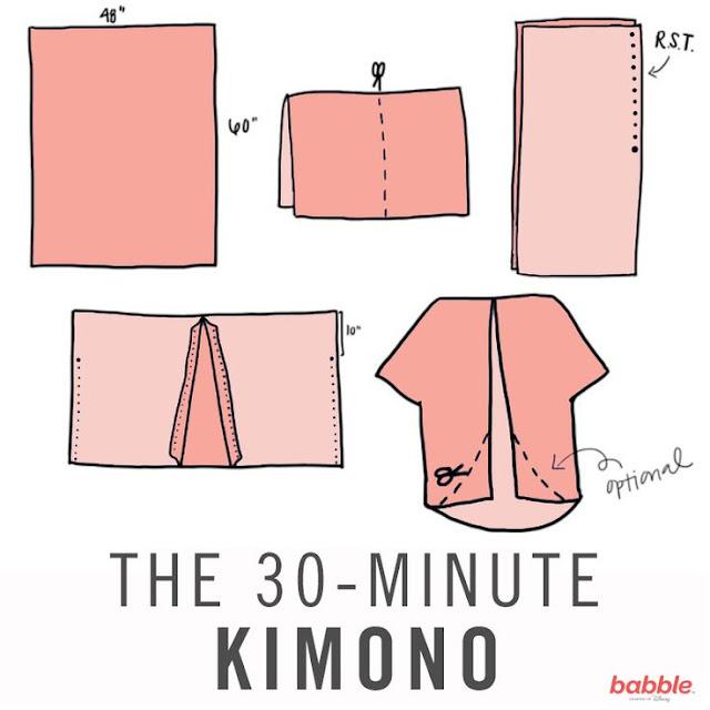 Tutorial #kimono #pequeñafashionista #modaniña
