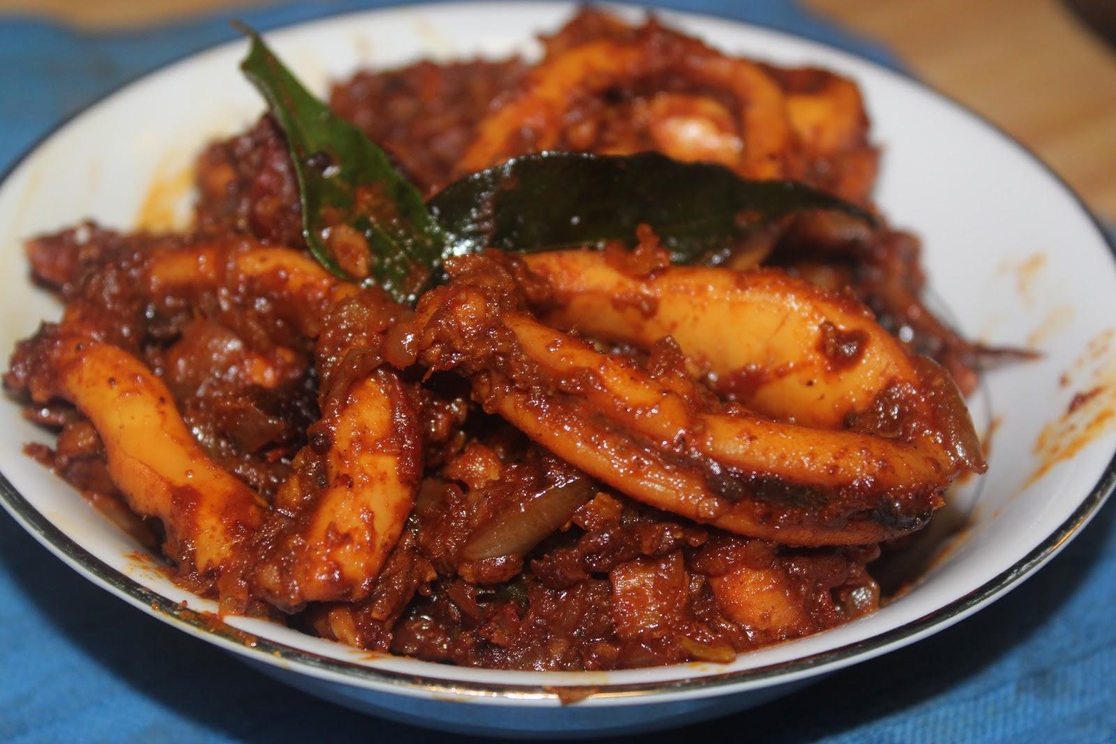 Mellow Recipes...: Squid Roast