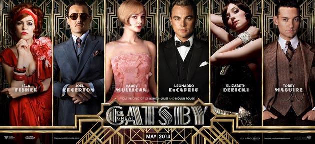 The Great Gatsby Cast Tobey Maguire, Leonardo DiCaprio, Carey Mulligan and Joel Edgerton