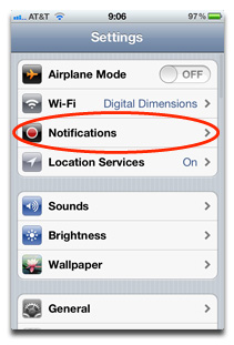 Settings And Notifications