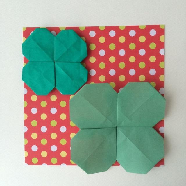 紙 折り紙 クローバー 折り紙 : origamilabo.blogspot.com