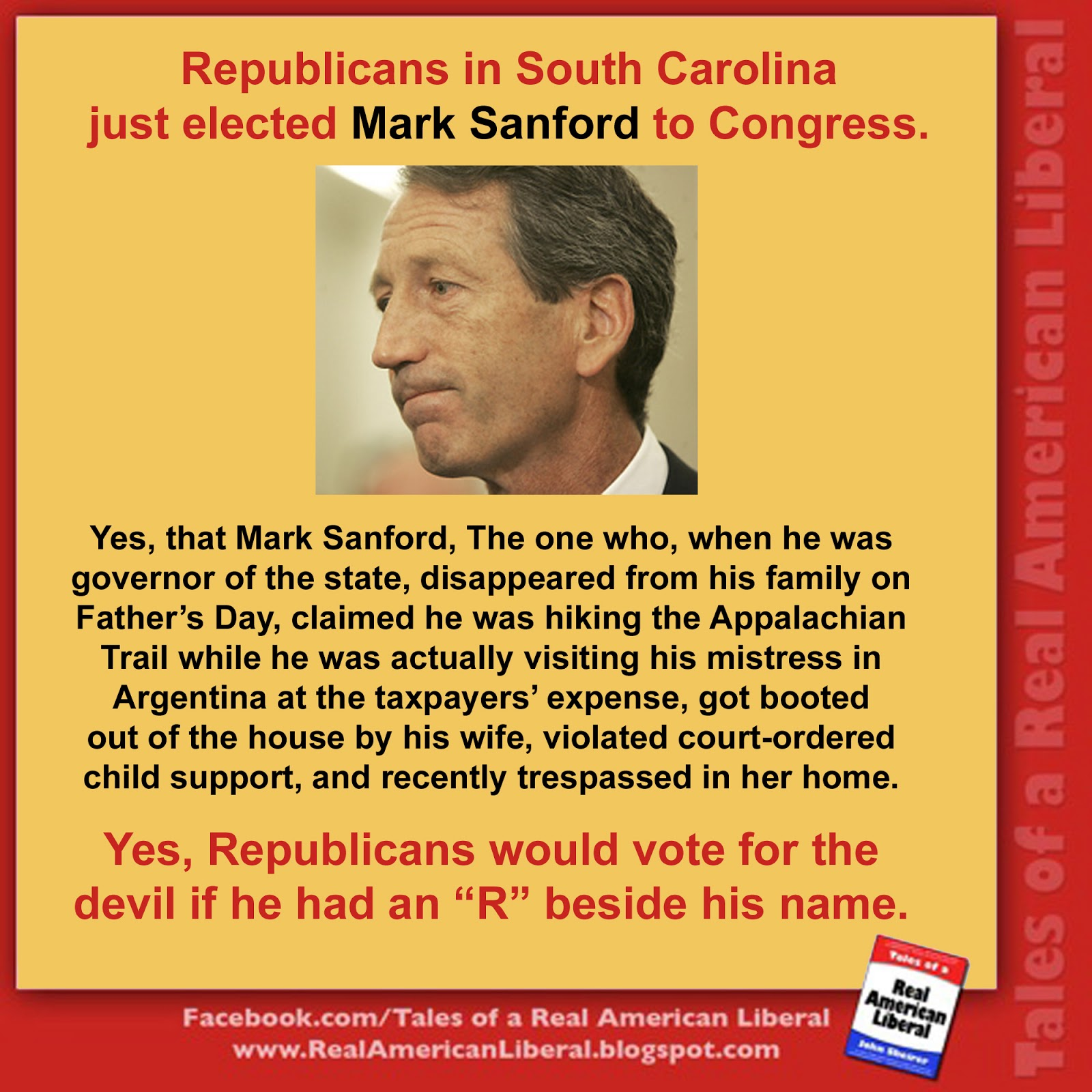 Republican idiot