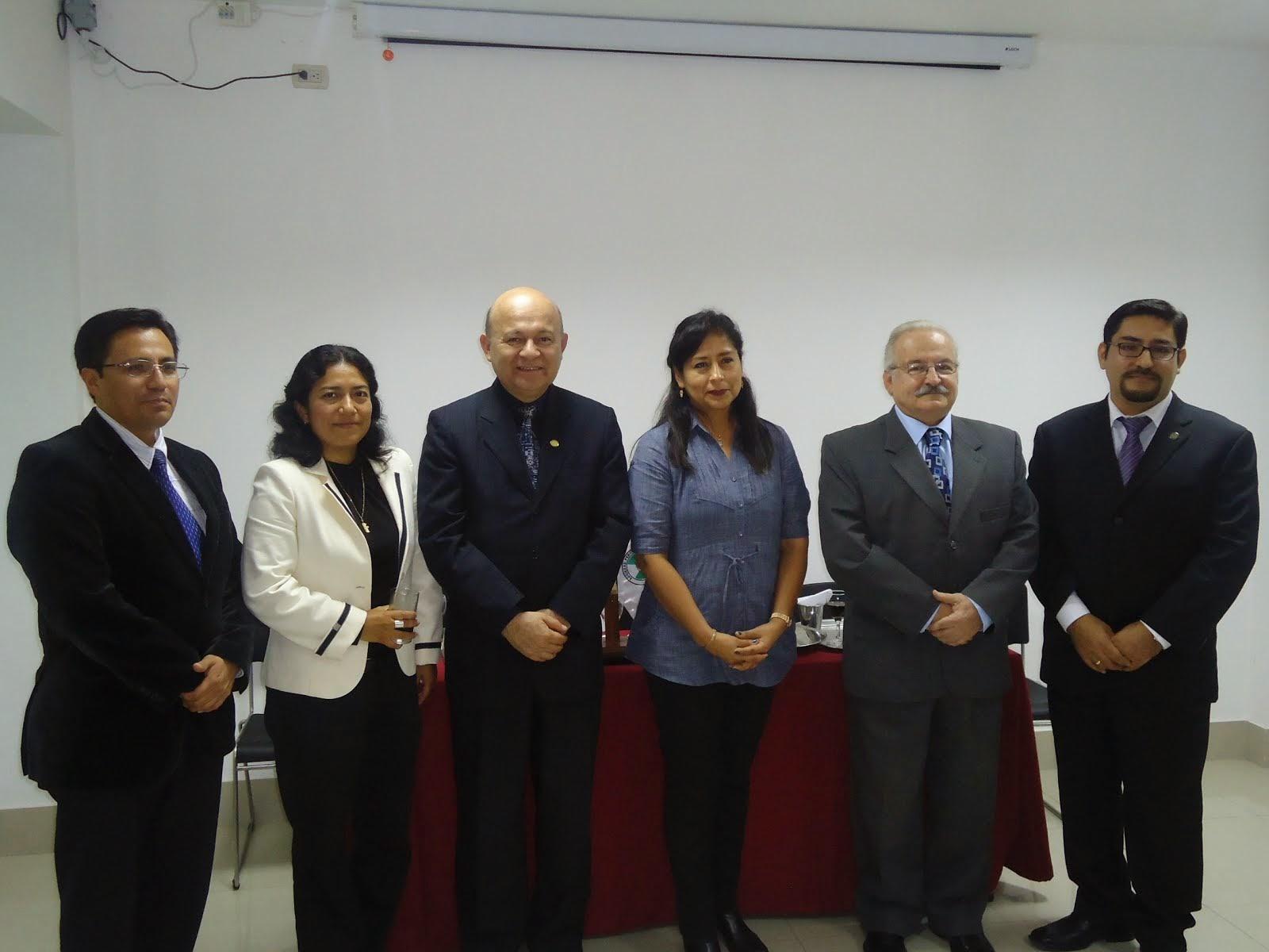 JUNTA DIRECTIVA DE LA SOCIEDAD PERUANA DE RADIOPROTECCION (2013-2015)