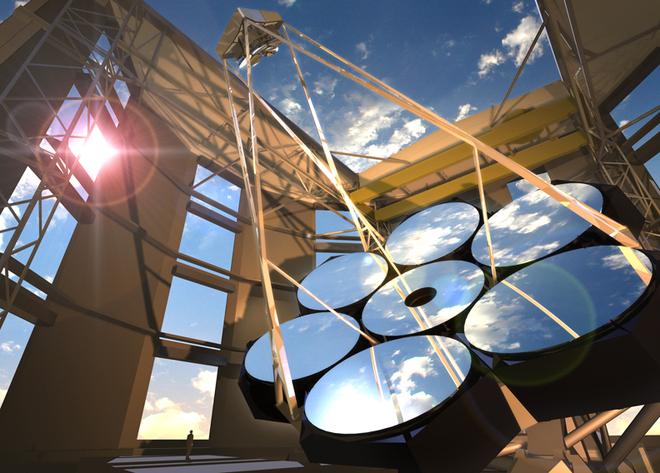 Agayabak !!!: teleskop optik terbesar di dunia