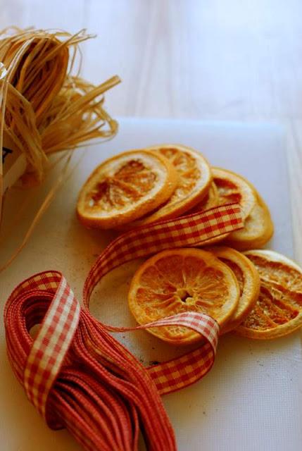 Homemade Christmas Decorations Dried Orange : Pantry and parlour dried orange cinnamon christmas