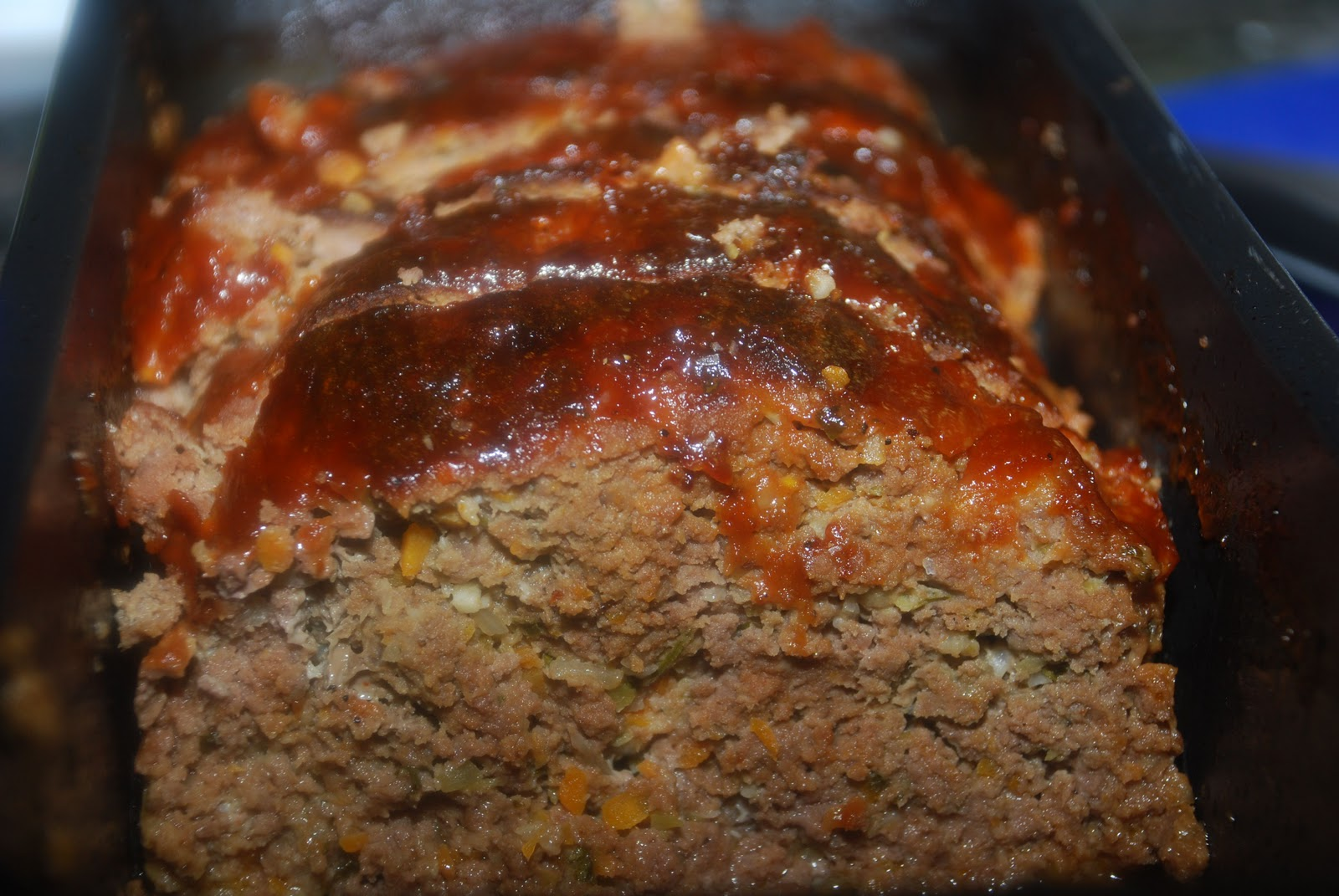 ... on the Vine: Craving Comfort Food? Meatloaf with Barbecue Glaze