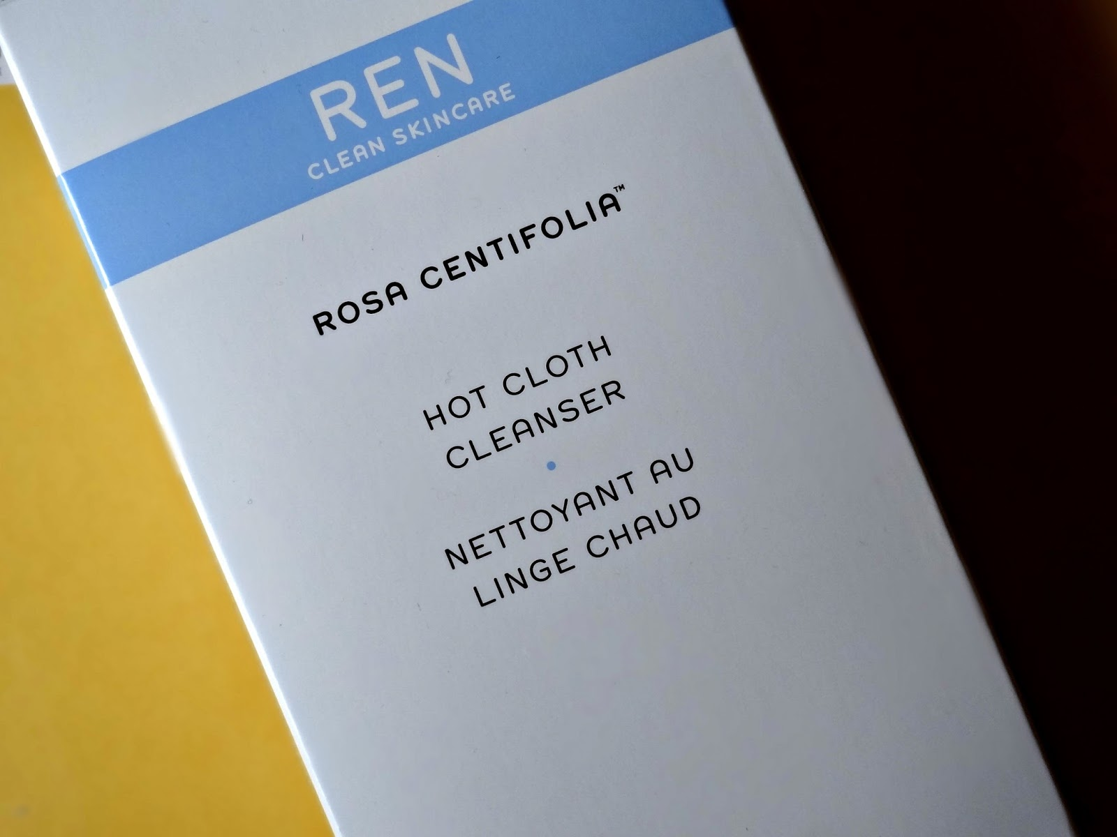 REN Rosa Centifolia Hot Cloth Cleanser Review, Photos