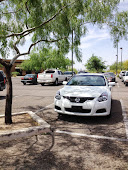The best parking spaces are determined by the amount of shade, not distance