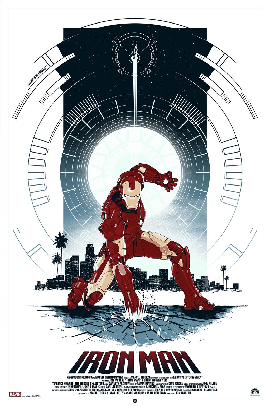 Inside The Rock Poster Frame Blog Matt Ferguson Iron Man