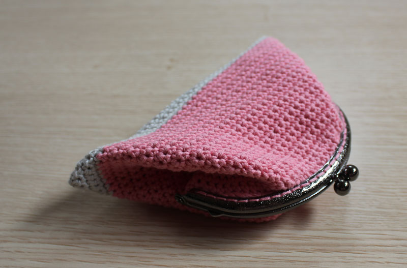Crochet Bag Tutorial : ... Tutorial : monedero con boquilla / How to do : crochet purse with