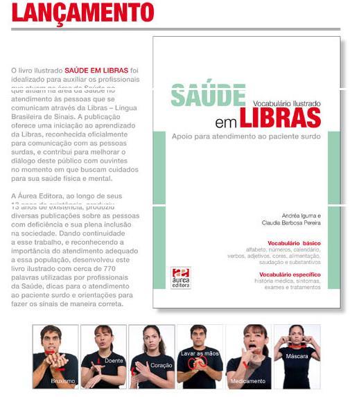 DICIONÁRIO LIBRAS E SAÚDE - Click aqui!