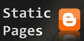Cara Menampilkan Menu Halaman Statis Blog