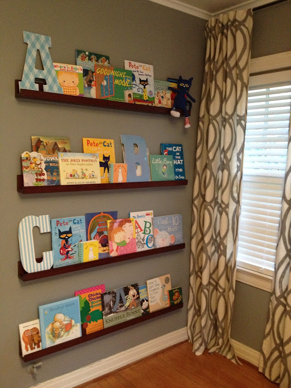 Pottery Barn Book Shelves and Ledges