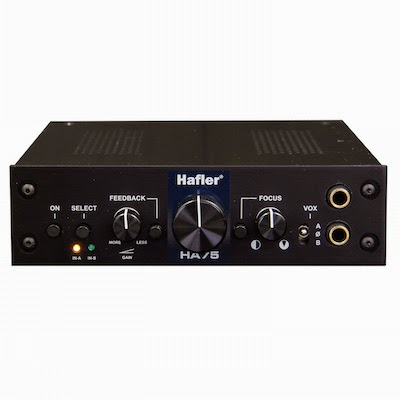 Hafler HA75 TubeHead headphone amplifier image