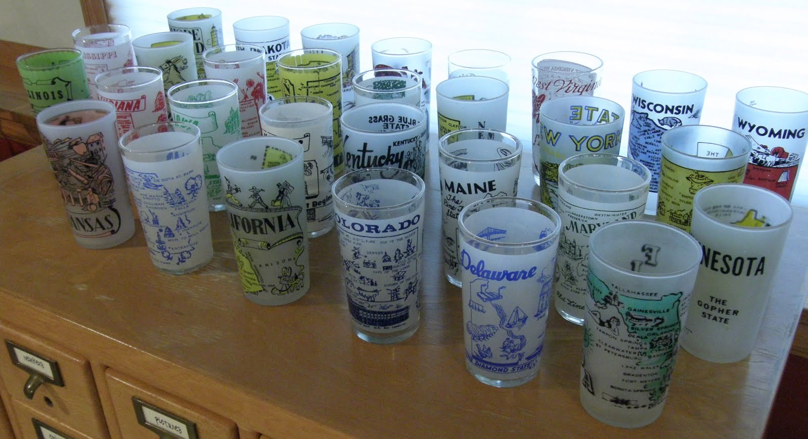 State Souvenir Glasses I'm Looking For