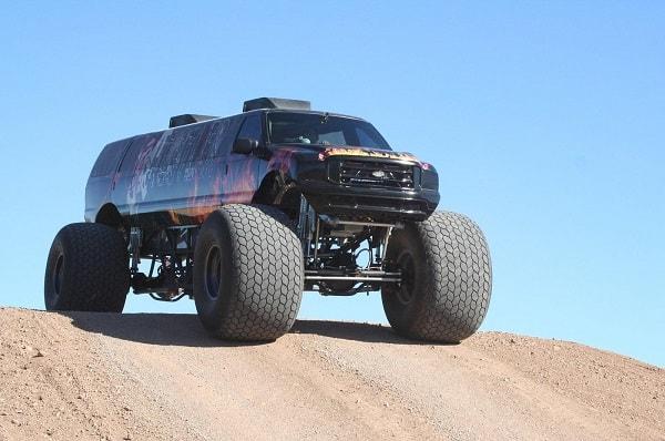 Sin City Hustler Monster Truck