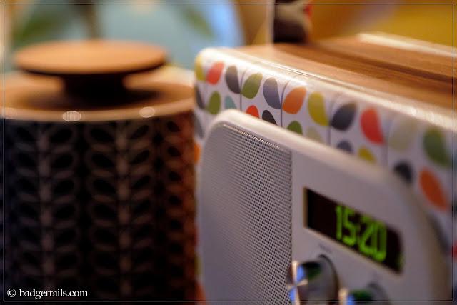 pure evoke mio radio orla kiely design
