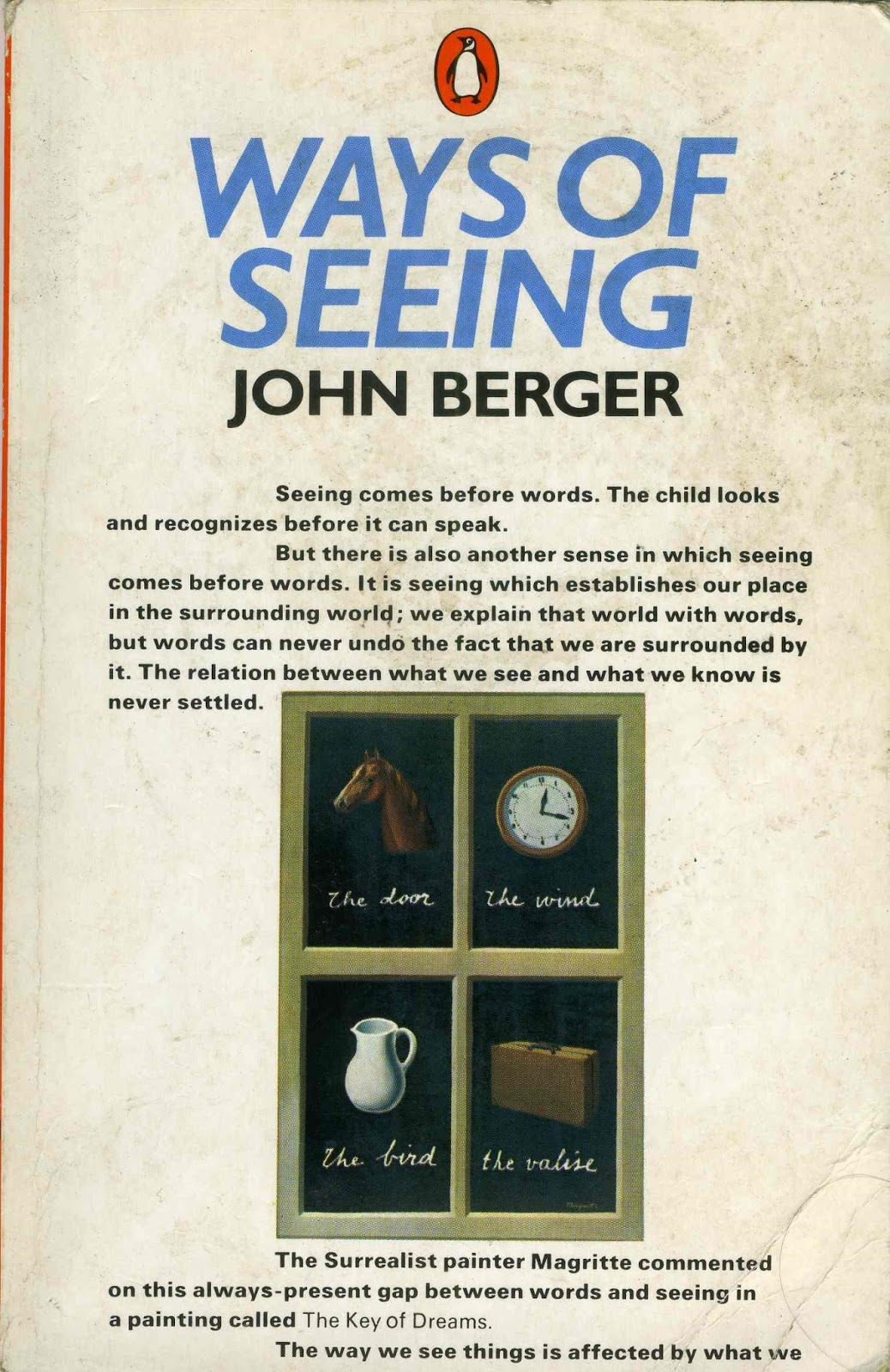 the generalist how to see the world nicholas mirzoeff berger in turn had drawn on a famous 1936 essay by the german critic walter benjamin the work of art in the age of mechanical reproduction only