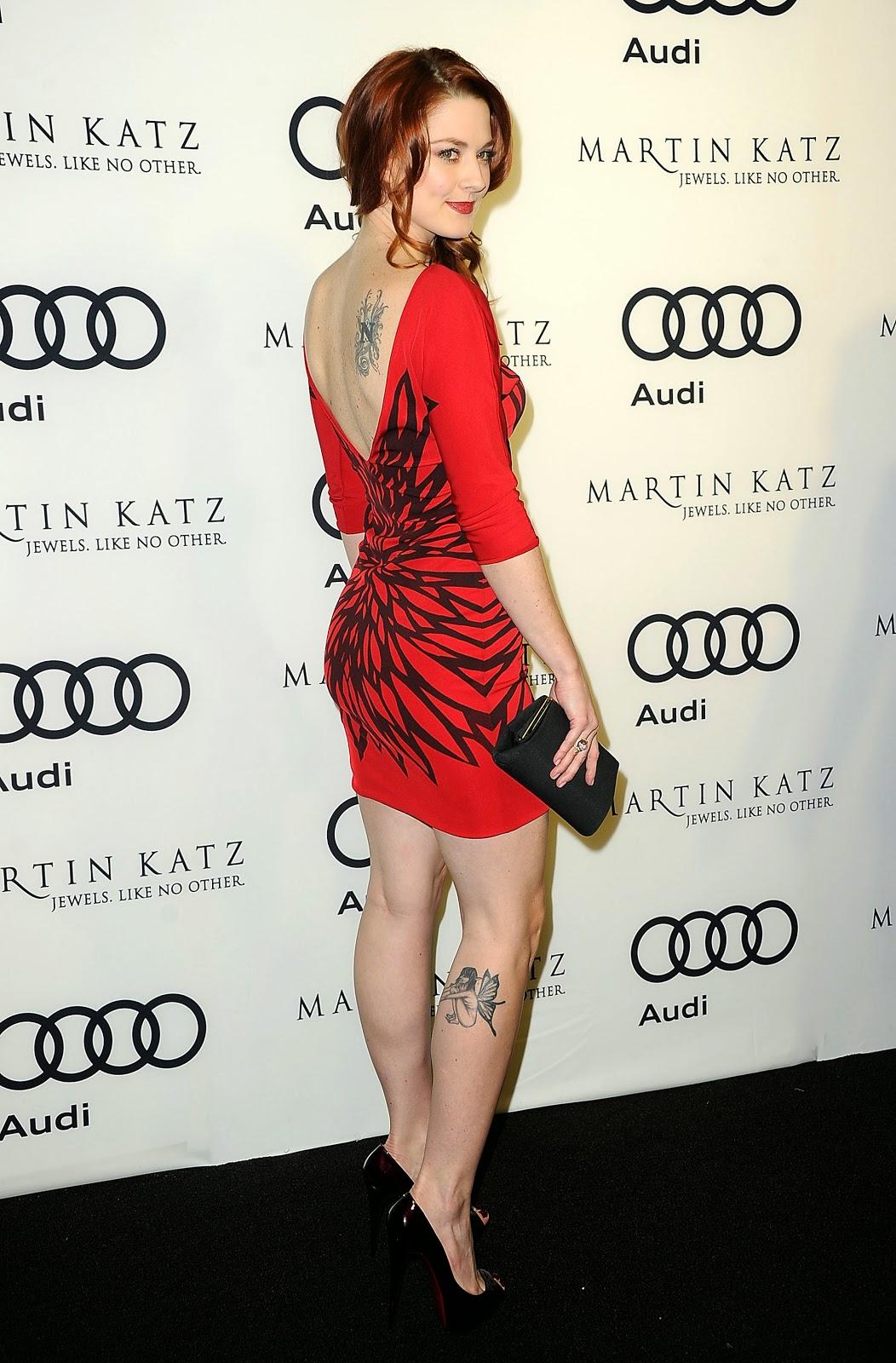 HD Photos of Alexandra Breckenridge Golden Globe Awards Party