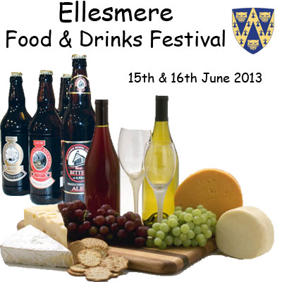 ... Market Town: Ellesmere Shropshire Food and Drinks Festival 2013