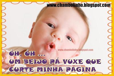 Recadinho Beijinhos para Facebook