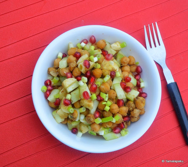 Chickpea-Banana Salad